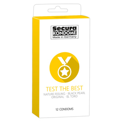 Secura Kondome Test The Best Mixed x12 Condoms