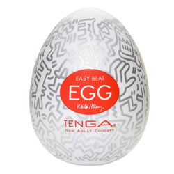 Tenga Keith Haring Party Egg Masturbator