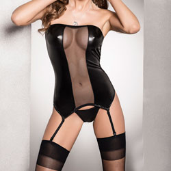 Passion Zola Corset Black